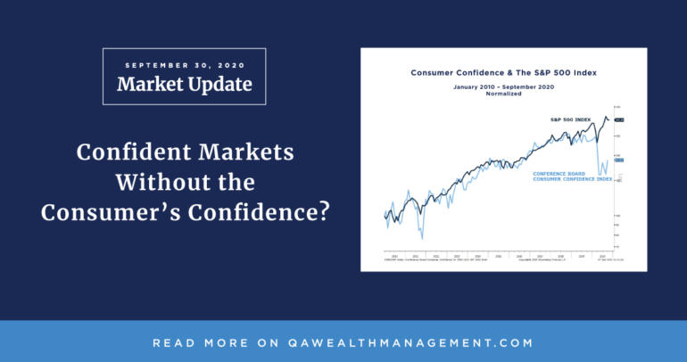Market Update September 2020 – Confident Markets Without the Consumer's Confidence?