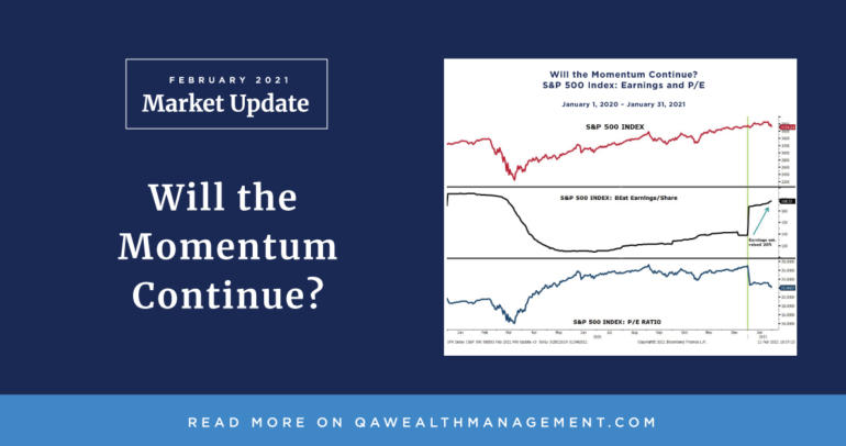 Market Update February 2021 – Will the Momentum Continue?