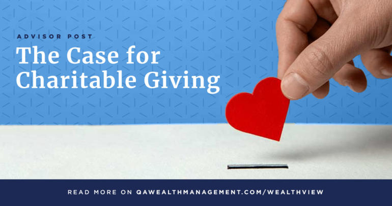 The Case for Charitable Giving