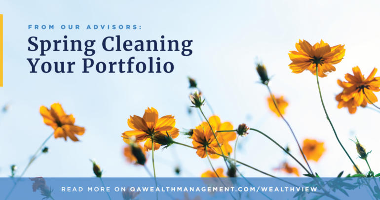 Spring Cleaning Your Portfolio